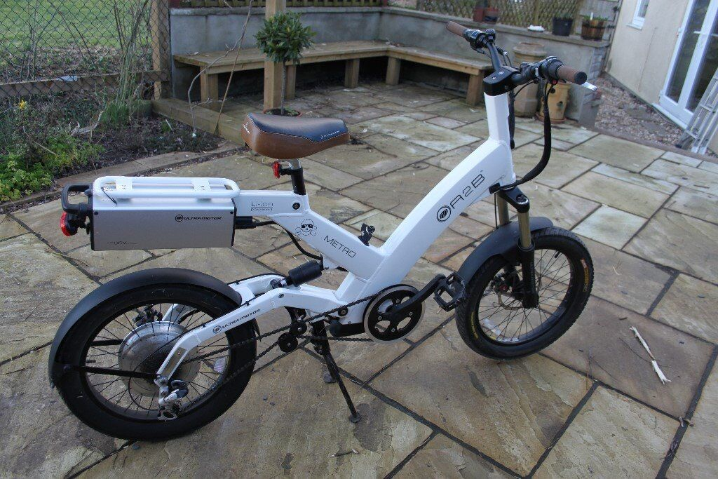 Electric Bike: A2b Metro Electric Bike on