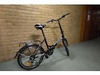 Adult Foldaway Tiger Bike for commuting