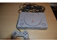 Original Sony PS1 PlayStation 1 Console, 1 Controller 1 game