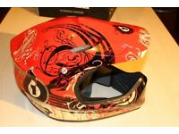 SixSixOne 661 Evolution Full Face Mountain Bike / BMX Helmet (New / Boxed - Large Size)