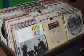 "700 x 7"" Vinyl Records.. 1960's - 80's Pop Collection"