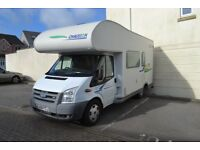 Chausson Flash S3 Motorhome with bunk beds, recent habitation check.