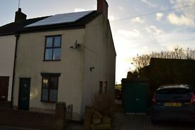 two bedroom semi detached house to rent