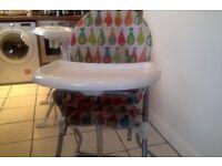 mammas n papas high chair
