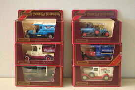 SECOND SET OF SIX MODELS OF YESTERYEAR BOXED