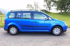 Volkswagen Touran 1.9 TDI, 2004,103 000miles, MPV 7 seats, £ 2250, MOT due 20.07.17, service history