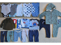 Bundle of Boys Baby Clothes 12 to 18 months (autumn)