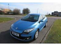 RENAULT MEGANE 1.5 DYNAMIQUE TOMTOM DCI,2012,Alloys,Air Con,Cruise Control,F.S.H,68mpg,£20Road Tax