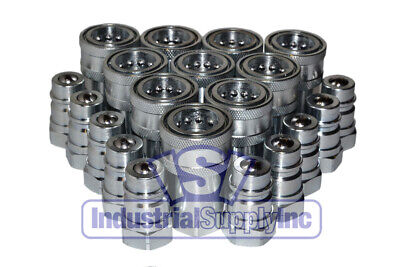 Quick Coupler Agricultural 12 Npt Complete Set Iso 5675 Series 10 Pk