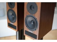 PMC Twenty 21 Walnut Stereo Speakers - Mint Condition Boxed