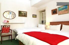 Large bedroom for 2 people short or long term 105 pounds per person per week