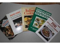 Bundle of 5 cookery books