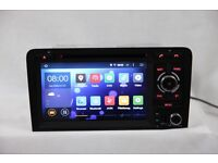 AUDI A3 S3 Android 4.4 AUDI A3 Car Dvd Player /internet / Quad Core Full Sat Nav Touch Screen