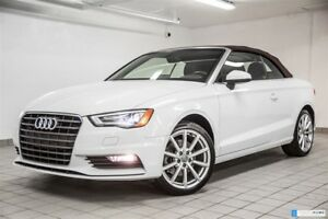 2015 Audi A3 CABRIOLET KOMFORT QUATTRO 18'' STYLING PACK