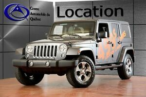 2017 Jeep WRANGLER UNLIMITED Sahara 4X4 2xTOITS NAV LOCATION