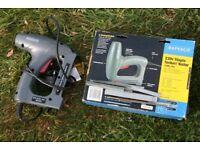 RAPESCO electric staple tacker/nailer. 140EL PRO
