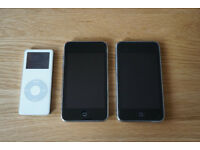 Selling 2 32GB iPod Touch devices + iPod Nano 2GB
