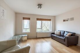A light & modern PART FURNISHED first floor flat with view over the communal gardens