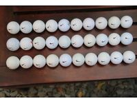 30 used Nike golf balls in good condition