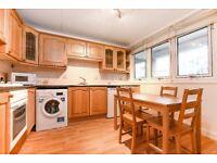 A spacious four-bedroom, split-level maisonette
