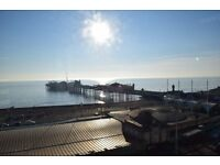 SB Lets are delighted to offer a brand new top floor one bedroom flat with sea views in Brighton