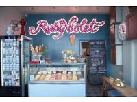 Ruby Violet seeks night shift kitchen staff to make extraordinary ice cream