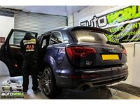 Window Tinting, Car Wrapping, Headlight Tints, Interior Wrapping, Car Privacy Windows, Security Glas