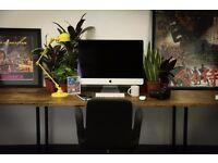 OUTSTANDING DESK SPACE / NETIL HOUSE / CREATIVE STUDIO