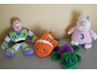 SOFT TOYS any 4 for £10