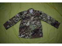 Italian Army Combat Shirt-Jacket, in 'mimetico Vegetata' Camo (size large)