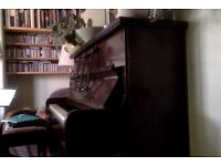 Small Upright Piano (Holder - London) for sale - perfect for a new learner.