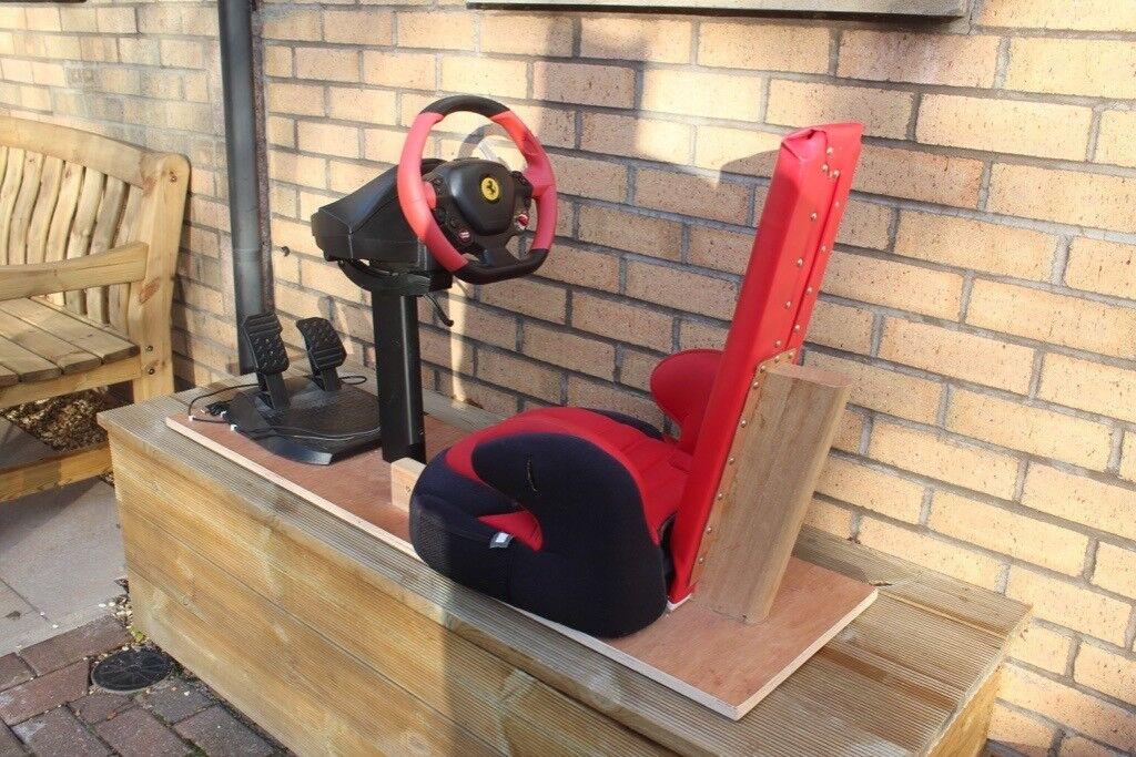 Magnificent Thrustmaster Ferrari F458 Spider Racing Wheel For Xbox One Including Homemade Gaming Chair For Kids In Gorebridge Midlothian Gumtree Inzonedesignstudio Interior Chair Design Inzonedesignstudiocom