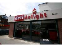 Deli Bar Desserts Takeaway Diner For Sale