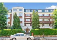 3 double bedroom flat set in this Art Deco building in South Hampstead