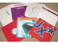 "7 x 12"" Hooj Records Vinyl Collection OLD SKOOL / ELECTRO"