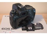 Canon 80D Body Immaculate Condition
