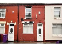 37 SEDLEY STREET, ANFIELD - 2 BEDROOM TERRACED HOUSE with GCH & DG. DSS Welcome.