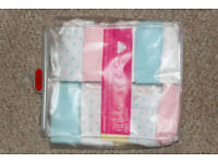 Pack of 10 girl's briefs age 9-10 - Brand New in Packet