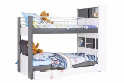 Montana Single Bed Bunks with storage - used twice