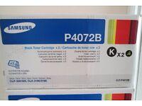 CLT-P4072B Samsung Laser Toner Cartridge Twin pack Black