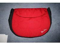 Silver Cross Ventura Plus Car Seat Apron/Footmuff - Red ****can post ***