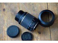 CANON TAMRON AF 55-200MM F/4-5 MACRO LD DiII LENS . 450D,500D,550D,600D,1100D,1200D,100D,650D,700D