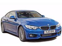 NEW BMW 4 SERIES - AIRPORT TRANSFERS - GATWICK & HEATHROW £110 RETURN