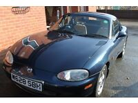 Mazda MX5 2000 1.8 sport, hardtop UK Model, lots of factory fitted extras