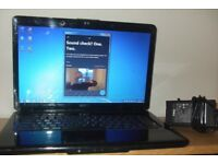 Dell 15.6 Core Duo Laptop (wi fi and internet ready)