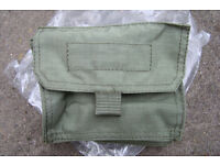 Rare - Italian Army Issue Webbing Utility Pouch (2 available)
