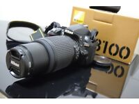 Nikon D3100 + Nikon VR Zoom Lens 55-200mm