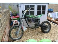 Kawasaki KX80 Frame, Wheels & Parts