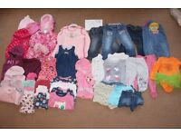 Girls 12-18 Months Baby Clothes Bundle A