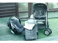 Graco Quattro Tour de-luxe Baby transport system